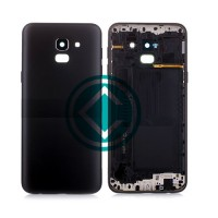 Samsung Galaxy J6 Rear Housing Battery Door Module - Black
