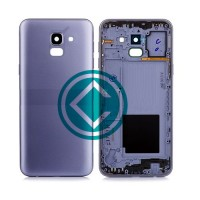 Samsung Galaxy J6 Rear Housing Battery Door Module - Blue