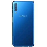 Samsung Galaxy A7 2018 Rear Housing Battery Door - Blue