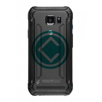 Samsung Galaxy S6 Active Rear Housing Module With Battery Door Black
