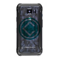 Samsung Galaxy S6 Active Rear Housing Module With Battery Door Blue