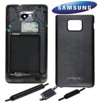 Samsung Galaxy S2 i9100 Complete Housing Panel Black