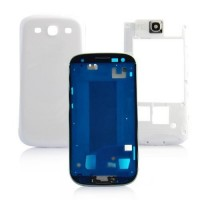 Samsung Galaxy S3 i9300 Complete Housing Panel Module - White
