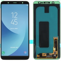 Samsung Galaxy A6 Plus 2018 LCD Screen With Digitizer Module - Black