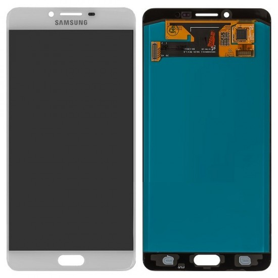 Samsung Galaxy C9 Pro LCD Screen With Digitizer Module - White