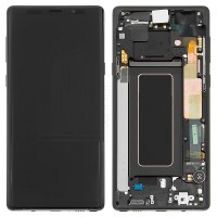 Samsung Galaxy Note 9 LCD Screen With Front Housing Module - Black