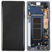 Samsung Galaxy Note 9 LCD Screen With Front Housing Module - Blue