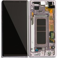 Samsung Galaxy Note 9 LCD Screen With Front Housing Module - Lavender