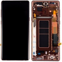 Samsung Galaxy Note 9 LCD Screen With Front Housing Module - Metallic