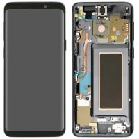 Samsung Galaxy S9 LCD Screen With Front Housing Module - Black