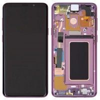 Samsung Galaxy S9 LCD Screen With Front Housing Module - Purple