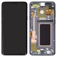 Samsung Galaxy S9 LCD Screen With Front Housing Module - Silver