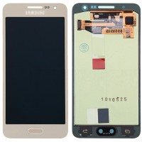 Samsung Galaxy A3 2015 LCD Screen With Digitizer Module - Gold