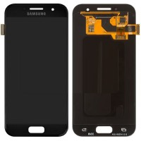 Samsung Galaxy A3 2017 LCD Screen With Digitizer Module - Black