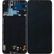 Samsung Galaxy A70 LCD Screen With Frame Module - Black