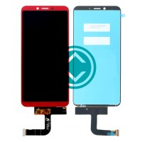 Samsung Galaxy A6s LCD Screen With Digitizer Module - Red
