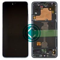 Samsung Galaxy A90 5G LCD Screen With Front Housing Module - Black