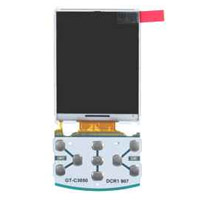 Samsung C3050 LCD Screen Module