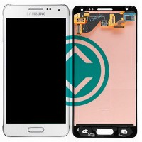 Samsung Galaxy Alpha LCD Screen With Digitizer Module White