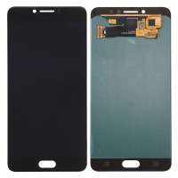 Samsung Galaxy C7 Pro LCD Screen With Digitizer Module - Black