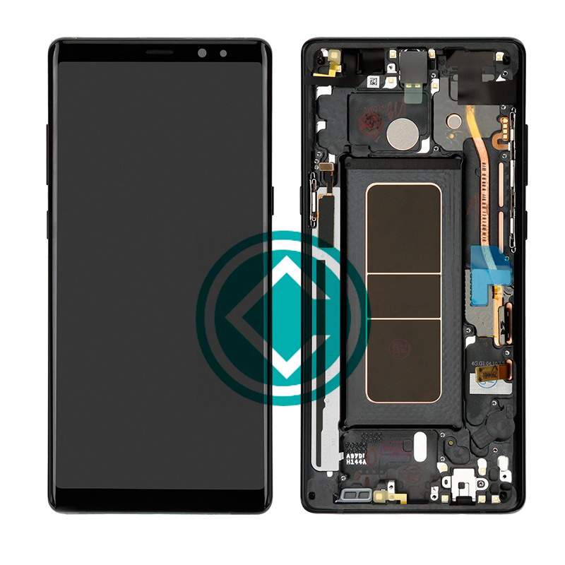 Black Screen 8 Galaxy Lcd - Samsung With Note Digitizer Module