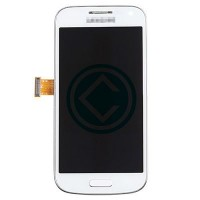 Samsung Galaxy S4 Mini i9192 LCD Screen Module With Frame White