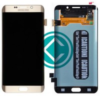 Samsung Galaxy S6 Edge Plus G928 LCD Screen Touch Pad - Gold