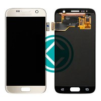 Samsung Galaxy S7 G930 LCD Screen With Digitizer Module - Gold