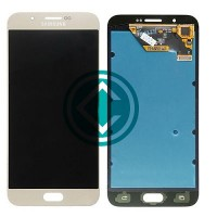 Samsung Galaxy A8 LCD Screen With Digitizer Module Gold