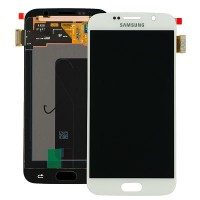 Samsung Galaxy S6 SM G920 LCD Screen With Digitizer Module - White