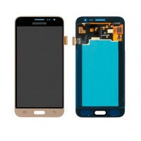 Samsung Galaxy J3 2016 LCD Screen With Digitizer Module - Gold