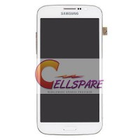 Samsung Galaxy Mega 5.8 LCD Screen Module Combo - White
