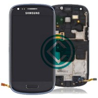 Samsung Galaxy S3 Mini i8190 LCD Screen With Front Housing Module - Black