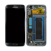 Samsung Galaxy S7 Edge LCD Screen With Frame - Black Edition
