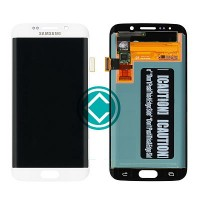 Samsung Galaxy S6 Edge LCD Screen With Digitizer Module White