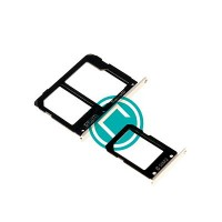 Samsung Galaxy A9 SM-A9000 Sim Tray Complete Set Module - Gold