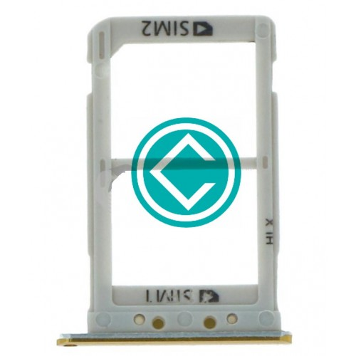 Samsung Galaxy A8s Sim Tray Module - Yellow