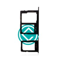Samsung Galaxy J6 Sim + SD Card Tray Module - Black