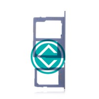 Samsung Galaxy J6 Sim + SD Card Tray Module - Blue