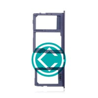 Samsung Galaxy J6 Sim + SD Card Tray Module - Gray
