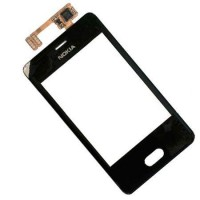 Nokia Asha 501 Touch Screen Black