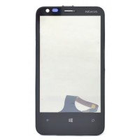 Nokia Lumia 620 Touch Screen With Front Housing Black