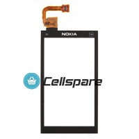 Nokia X6 Digitizer Touch Screen Module - Black