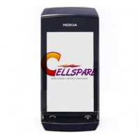 Nokia Asha 305 Touch Screen Digitizer With Frame - Black