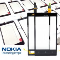 Nokia Lumia 720 Digitizer Touch Screen Complete Module - Black