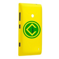 Nokia Lumia 520 Rear Housing Battery Door Module Yellow