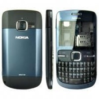 Nokia C3-00 Housing Panel Blue