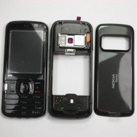 Nokia N79 Complete Housing Panel With Battery Door - Black