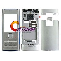 Nokia X2-00 Housing Panel With Keypad - Silver