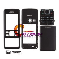 Nokia 6300 Housing Panel Complete - Black